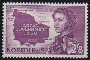 Norfolk Island 42 MNH (1960)