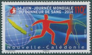 New Caledonia 2014 SG1613 110f Blood Donation MNH