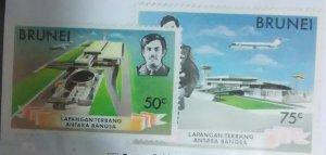 Brunei Scott #215-6*nh  (1975)