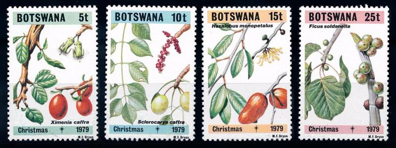 [66240] Botswana 1979 Flora Fruits Fruchte Plants Christmas  MNH