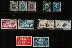 Ireland Scott 80 // 104 (5 Mint hinged sets) - Catalog Value $60.00