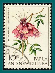 Papua New Guinea 1966 Flowers, 10c used  #229,SG101