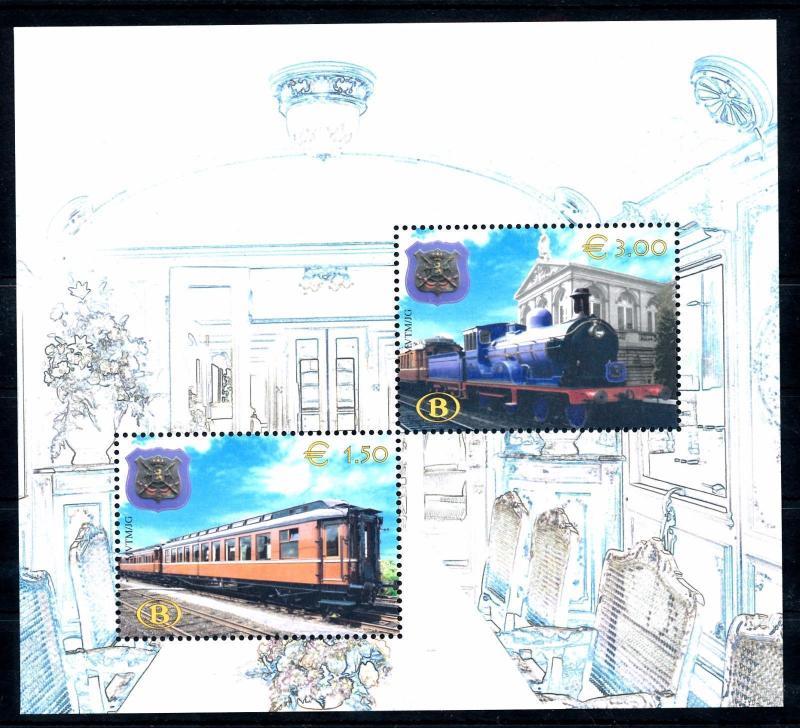 [49481] Belgium Belgien 2003 Railway stamps Eisenbahn Chemin de Fer MNH