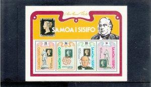 SAMOA 516a SOUVENIR SHEET MNH 2019 SCOTT CATALOGUE VALUE $1.50