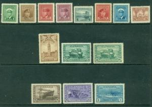 Canada #249-262  Mint  F-VF H&NH  Scott $126.90