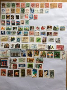 Canada 100 stamps - Lot F
