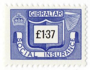 (I.B) Gibraltar Revenue : Social Insurance £1.37