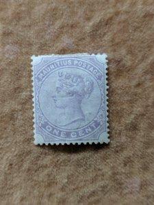 Mauritius 68 XFMH, CV $2.10