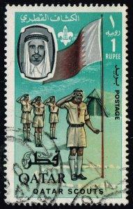 Qatar #60 Boy Scouts; Used (3Stars)