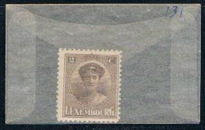 Luxembourg 131 Unused Duchess Charlotte 1921 (L0225)