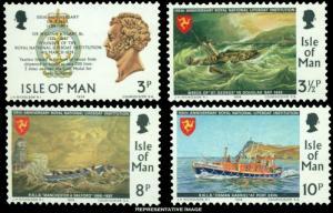 Isle of Man Scott 36-39 Mint never hinged.