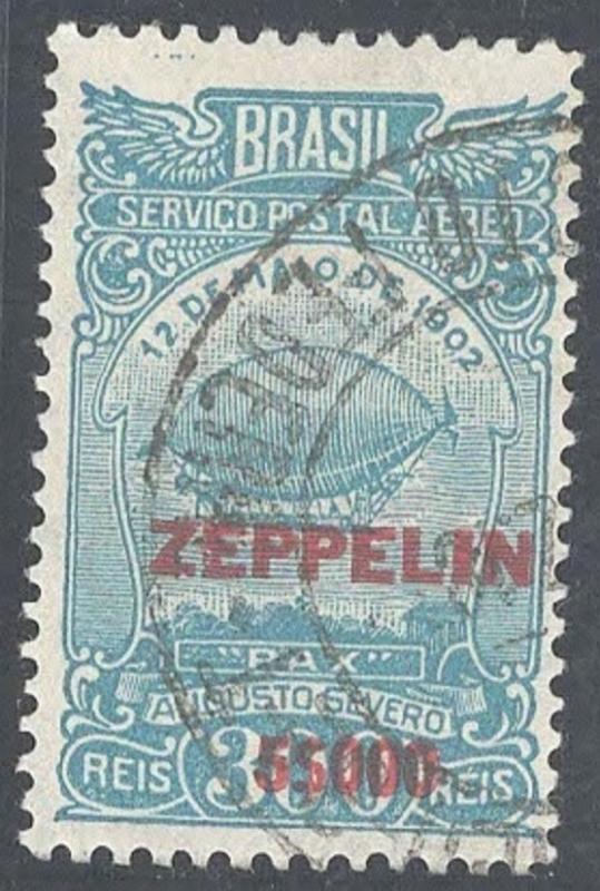 Zeppelins,  Brazil, used
