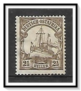 German East Africa #31 Kaiser's Yacht Hohenzollern NG