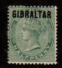 Gibraltar #1  Mint  Scott $24.00   No Gum