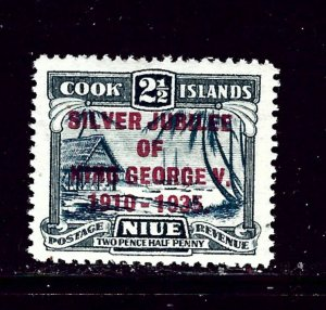 Cook Is 99 MNH 1935 KGV Silver Jubilee