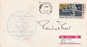 1973, Sky Lab Related Cover, Signed by Dr. Reinhard Beer See Remark (41931)