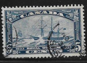CANADA, 204, USED, STEAMSHIP ROYAL WILLIAM