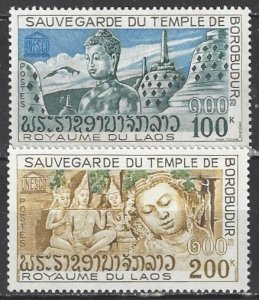 Laos  270-1  MNH  UNESCO