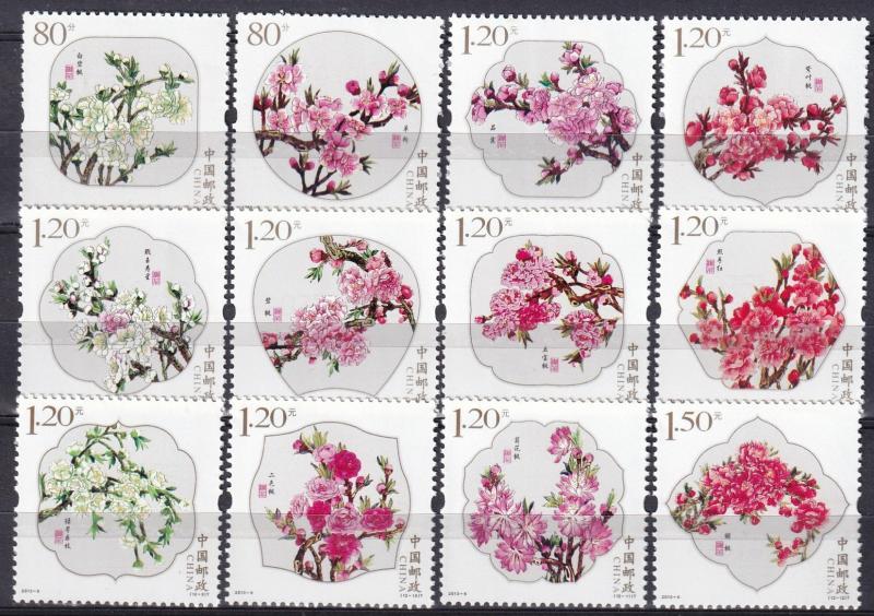 China (PRC) #4073-84  MNH CV $4.50 (A19117)