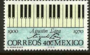 MEXICO 1036, In Memoriam Agustin Lara, Composer. MINT, NH. VF.