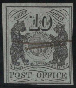 #11X2 Used F-VF Stamp w/PF Cert., SCV $8000  (GD 9/18)