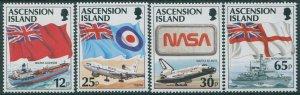Ascension 1997 SG709-712 Flags set MNH