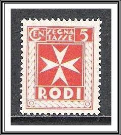 Rhodes #J1 Postage Due NG
