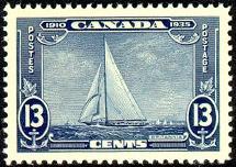 Canada 216 1935 13c Yacht MNH