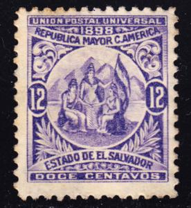 El Salvador Scott 182  F+  unused no gum original issue.