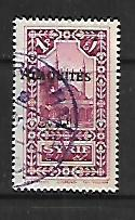 ALAOUITES, 29, USED, STAMPS OF SYRIA 1925 OVPTD