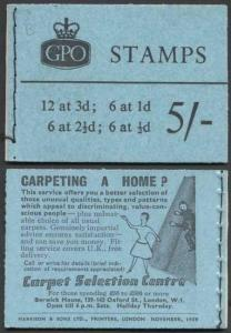 H41 November 1959 5/- Booklet