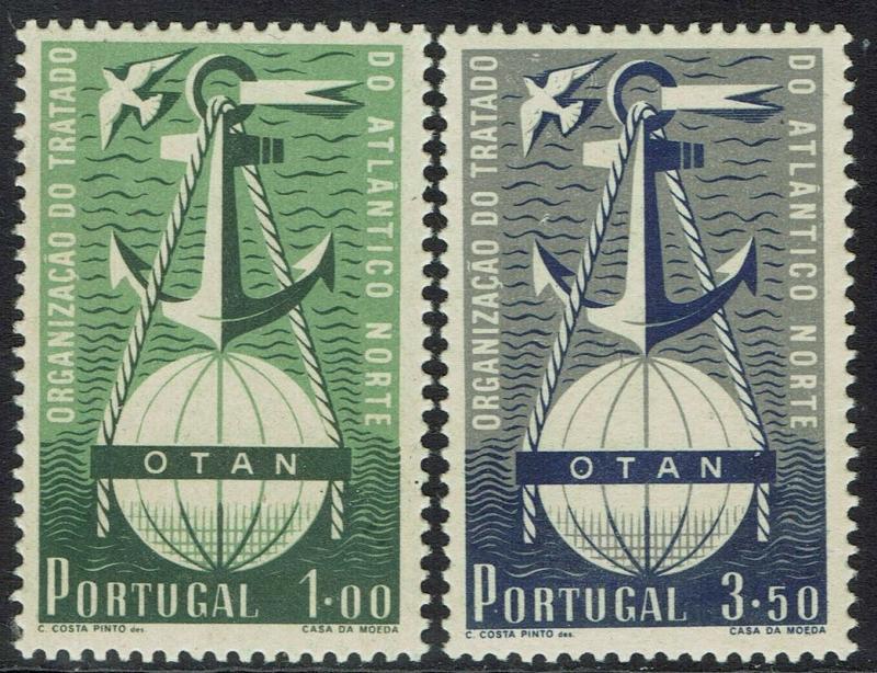 PORTUGAL 1952 NATO SET