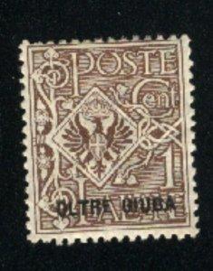 Oltre Giuba #1   -1   Mint  1925  PD