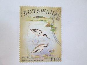 Botswana #942 used  2019 SCV = $0.25