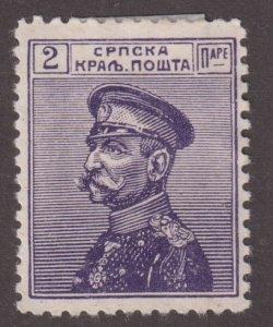 Serbia 109 Gen. Karageorgevich 1911
