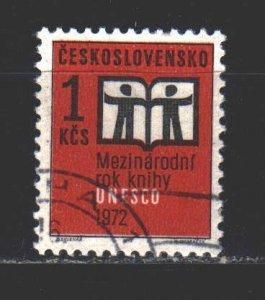 Czechoslovakia. 1972. 2058. International Book Day. USED.
