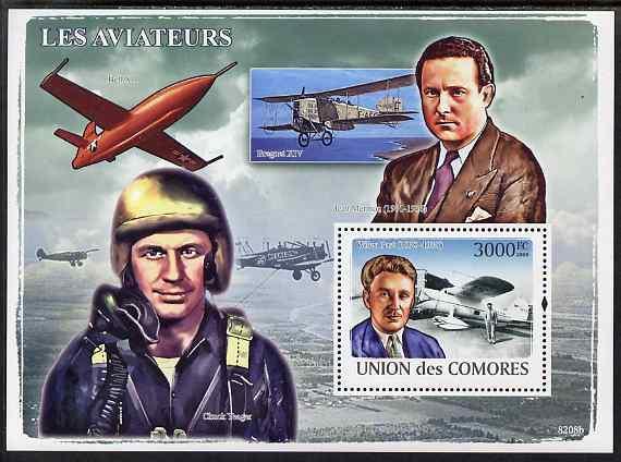 Comoro Islands MNH S/S Aviators/Planes