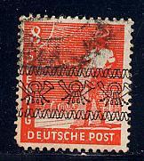 Germany Deutsche Post Scott # 602, used, variation
