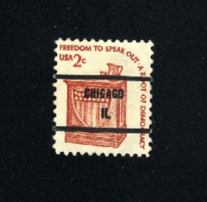USA #1582  2  used  precancelled 1975-81 PD .08