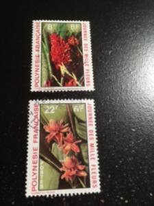 French Polynesia sc 264,266 u