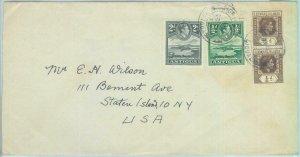 86256 - ANTIGUA - POSTAL HISTORY - COVER from GRAY'S FARM  1947