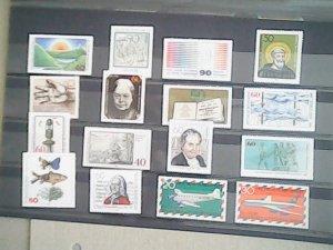 Germany  MNH  nice lot of stamps