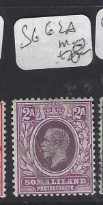 SOMALILAND  (PP1210B)  KGV   2A    SG 62A      MOG