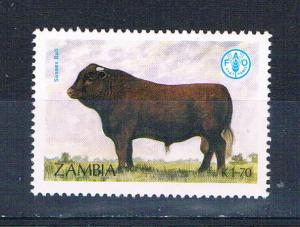 Zambia 420 MNH Cattle Sussex 1987 (Z0009)+