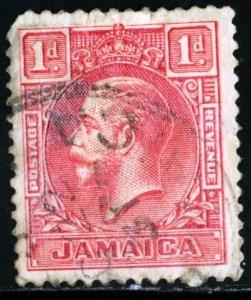 JAMAICA - SC #103 - USED - 1929- JAMA019NS3