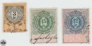 Austria Cinderella Revenue Fiscal stamp 9-19-21 as seen- 4n