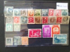 Lot Spain 1932-1938 used/unused