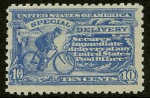 US Scott #E10 Mint FVF, Light Hinge