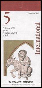 Canada Stamp Booklet - #BK189 (1995) $4.5