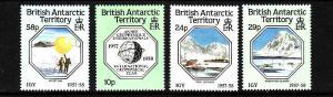 British Antarctic Territory-Sc#141-4- id2-unused NH set-Geophysical Year-1987-